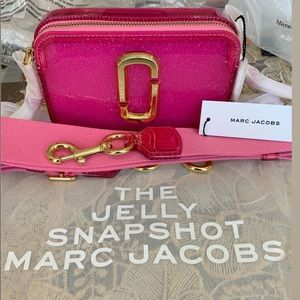 Marc Jacobs The Jelly Glitter Pink Snapshot